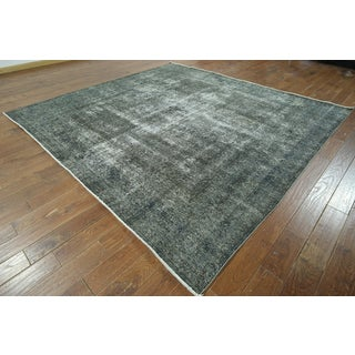 W891 Wool Square Overdyed Hand-knotted Rug (10' Square)
