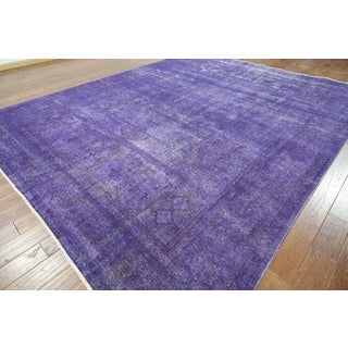 W916 Wool Overdyed Veg Dyed Hand-knotted Oriental Rug (10' x 13')