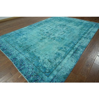 W928 Wool Oriental Overdyed Hand-knotted Rug (8' x 12')