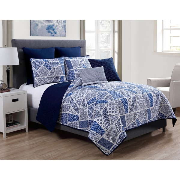 VCNY Ladera 7-piece Quilt Set
