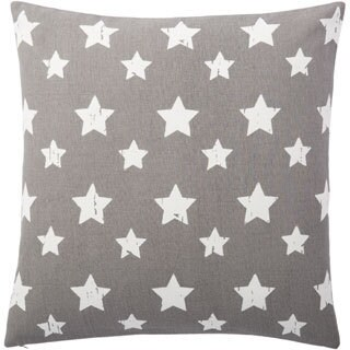 Andrew Charles Ogee Star Print 20-inch Throw Pillow