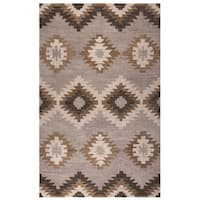 Rizzy Home Leone Collection Southwest Area Rug (5' x 8') - 5' x 8'