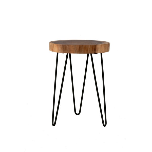 Shop Crafted Homes Cooper Freeform Side Table Free Shipping Today - Cooper end table