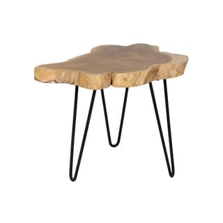 Crafted Home's Cooper Organic Wood Side Table