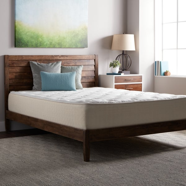 Shop Select Luxury Best Quilted 12-inch Queen Size Memory Foam ...