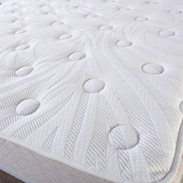 Select luxury best quilted 12 inch queen size mattress and foundation