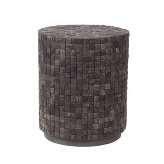 """East At Main's Quinn Coconut Shell End Table - 20"""" x 20"""" x 24"""""""