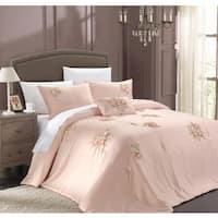 Maison Rouge Lydia 5-piece Pink Comforter Set