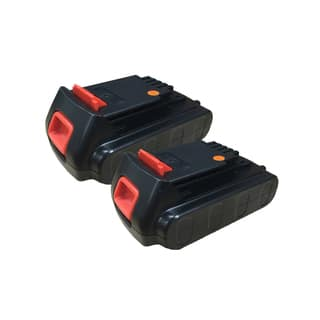 2 Black and Decker LBXR20 20-Volt MAX Extended Run Time Lithium-Ion Cordless Tool Batteries|https://ak1.ostkcdn.com/images/products/11384791/P18352913.jpg?impolicy=medium