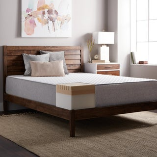 Select Luxury E.C.O. 12-inch King Size Latex and Memory Foam Mattress