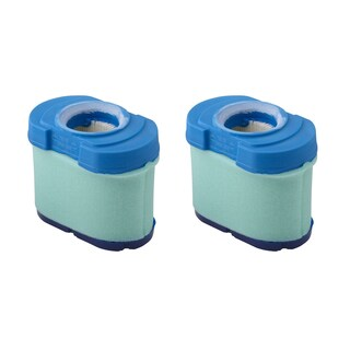 2pk Replacement Air Filter Cartridges, Fits Briggs & Stratton 16.0-27.0 HP V-Twin Engines, Compatible with Part 792105