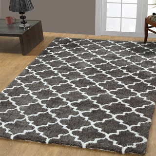Casa Platino Soft Cozy Ultimate Shag Rugs (5' x 8')