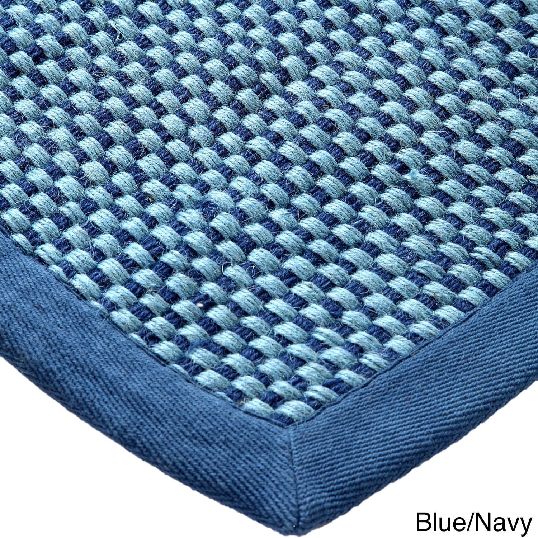 Navy Blue Sisal Rug Area Rug Ideas