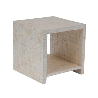 Crafted Home's Aiden Cube Side Table