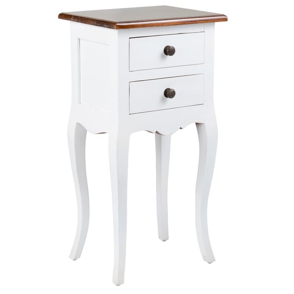 Stratford Console Table Crafted Home's Landon Side Table in White - Free Shipping Today ...