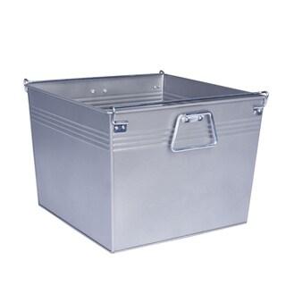Household Essentials Metal File Box