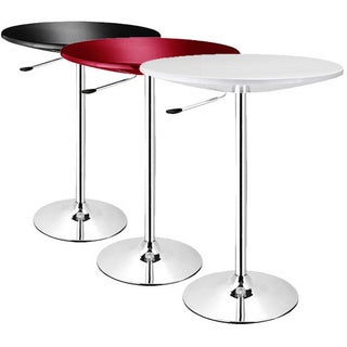 SB Alpha Contemporary Adjustable Bar Table (Set of 2)