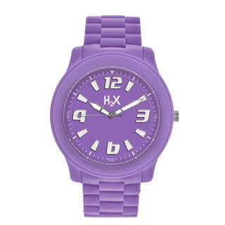 H2X Splash Womens Purple Watch
