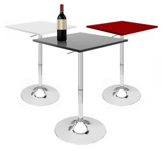 SB Zeta Contemporary Adjustable Bar Table