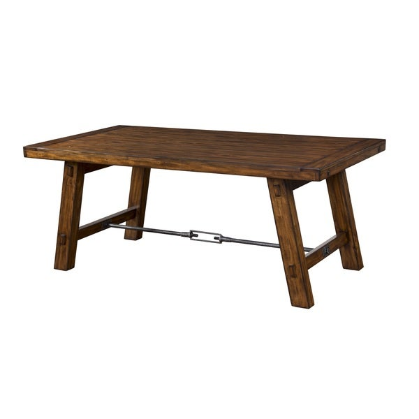 Sunny deigns tuscany dining table with turn buckle free for Dining room tables home goods