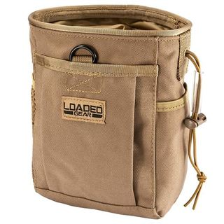 Loaded Gear CX-700 Drawstring Dump Pouch (Dark Earth)