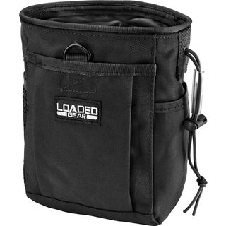 Loaded Gear CX-700 Drawstring Dump Pouch (Black)