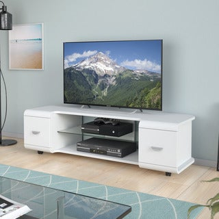 CorLiving Panorama TV Stand with Casters, for TVs up to 65""