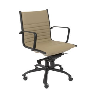 Taupe /Matte Black Dirk-PC LB Office Chair