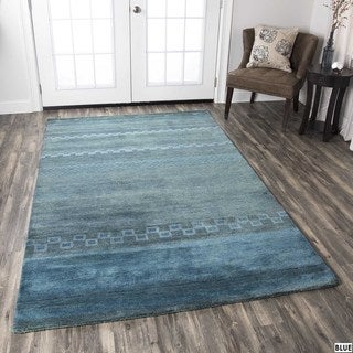 Rizzy Home Mojave Collection Hand-Tufted Wool Rug - 2'6 x 8'
