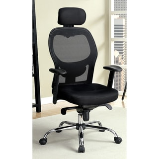 Furniture of America Kraemer Web Mesh Adjustable Office Chair