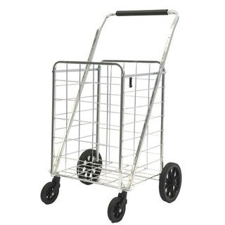 ATHome Premium Utility Cart with Swivel Front Wheels