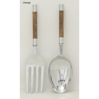 Aluminum Wood Kitchen Set of 2 7-inch x 22-inch Seasonal Accessory