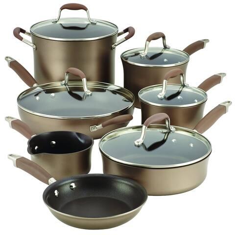 Anolon Advanced Bronze 12-piece Cookware Set