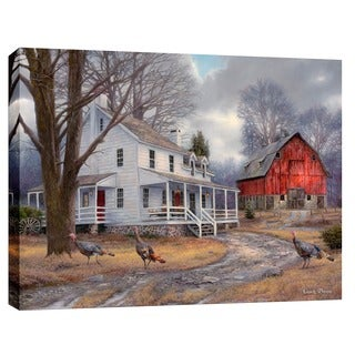 "Cortesi Home ""The Way It Used To Be"" by Chuck Pinson, Giclee Canvas Wall Art"