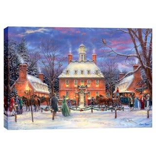 "Cortesi Home ""The Governor's Party"" by Chuck Pinson, Giclee Canvas Wall Art"
