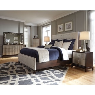 Magnussen B3564 Gramercy Wood Upholstered Panel Bed