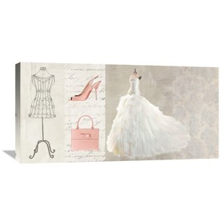 Global Gallery Michelle Clair 'Fashionable' Stretch Canvas Artwork