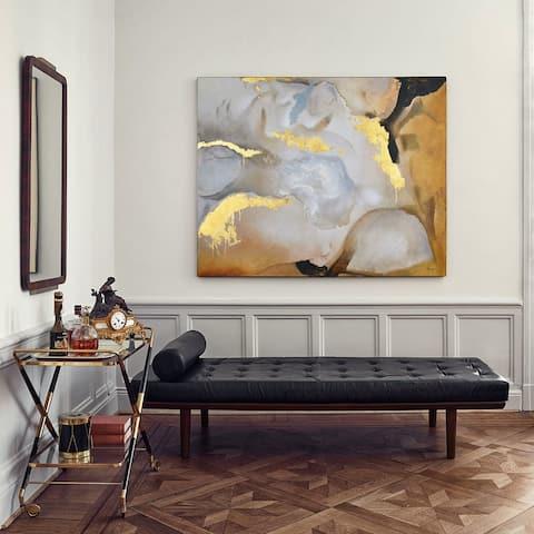 Ren Wil Golden Gobi Unframed Canvas