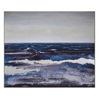 Ren Wil Breaking Waves Framed Canvas