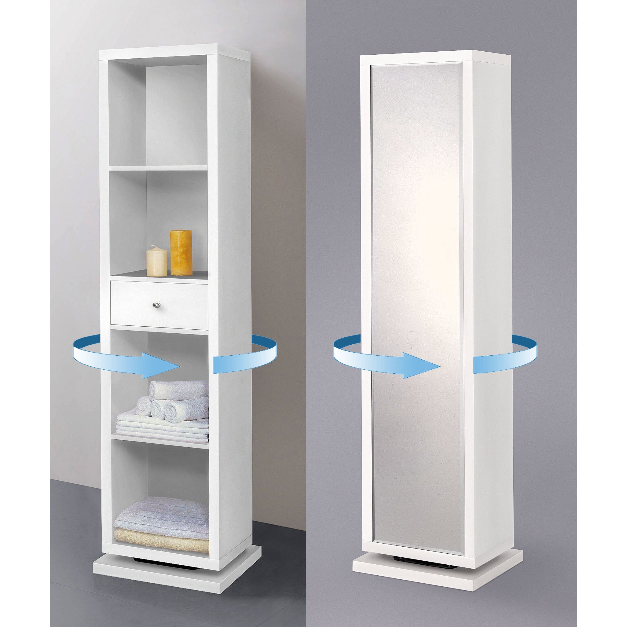 Buy Glass Bathroom Cabinets & Storage Online at Overstock.com | Our ...