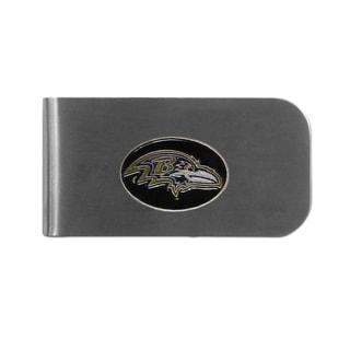 Baltimore Ravens Sports Team Logo Bottle Opener Money Clip