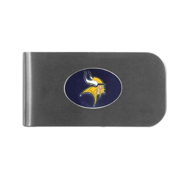 Minnesota Vikings Sports Team Logo Bottle Opener Money Clip