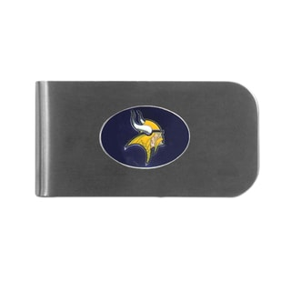 Minnesota Vikings Sports Team Logo Bottle Opener Money Clip