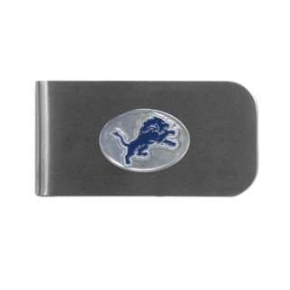 Detroit Lions Sports Team Logo Bottle Opener Money Clip