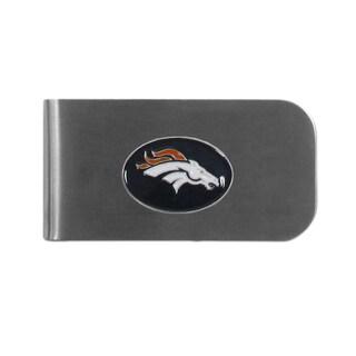 Denver Broncos Sports Team Logo Bottle Opener Money Clip