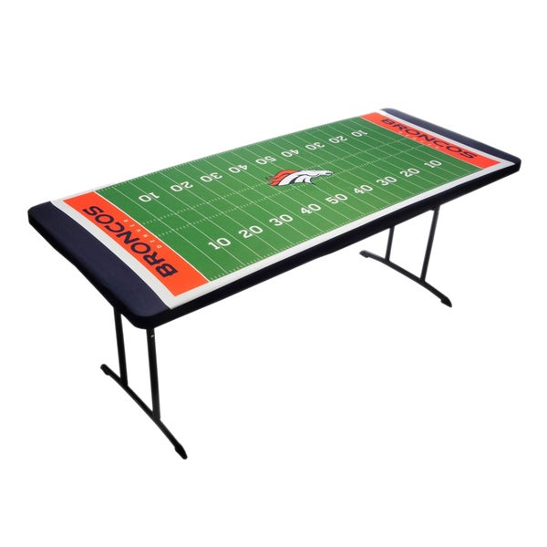 Nfl sports team logo table topit table cover free for Table table logo