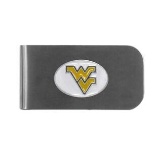 West Virginia Mountaineers Sports Team Logo Bottle Opener Money Clip