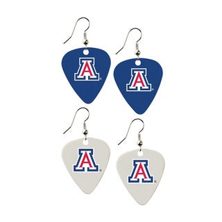 Arizona Wildcats NCAA Guitar Pick Dangle Earrings Charm Gift (Set of 2)