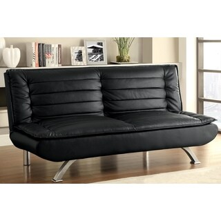 Premo Modern Decorative Black Quilted Pillow Top Sofa Bed