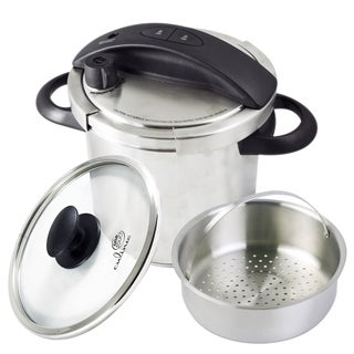 Culina One-Touch Stainless Steel Stovetop 6-quart Pressure Cooker